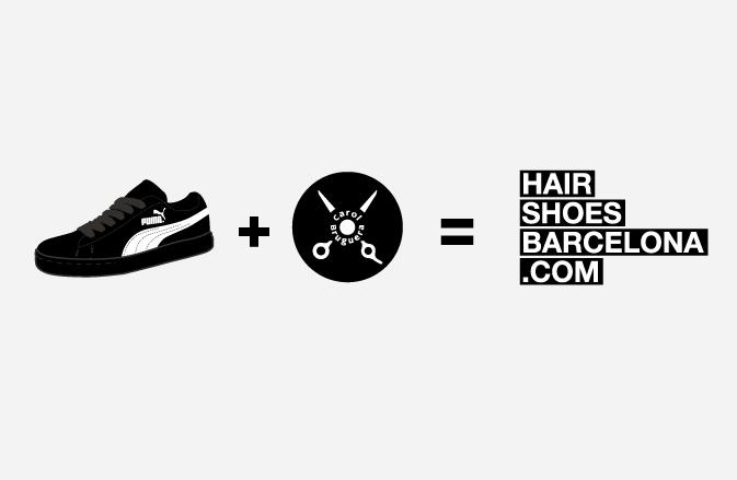 puma + carolbruguera = hairshoesbarcelona